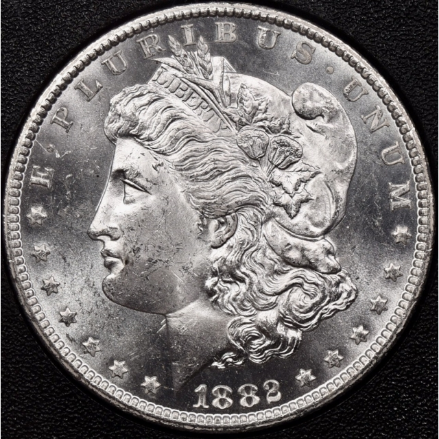1882-CC GSA Morgan Dollar NGC MS63 PL, I grade 64 DPL