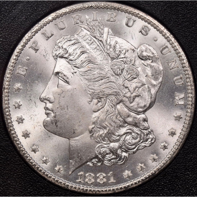1881-CC GSA Morgan Dollar NGC MS65+ CAC