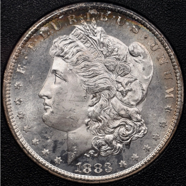 1883-CC GSA Morgan Dollar NGC MS64+PL CAC