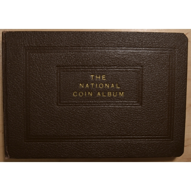 National Coin Album for Barber Dimes, Complete
