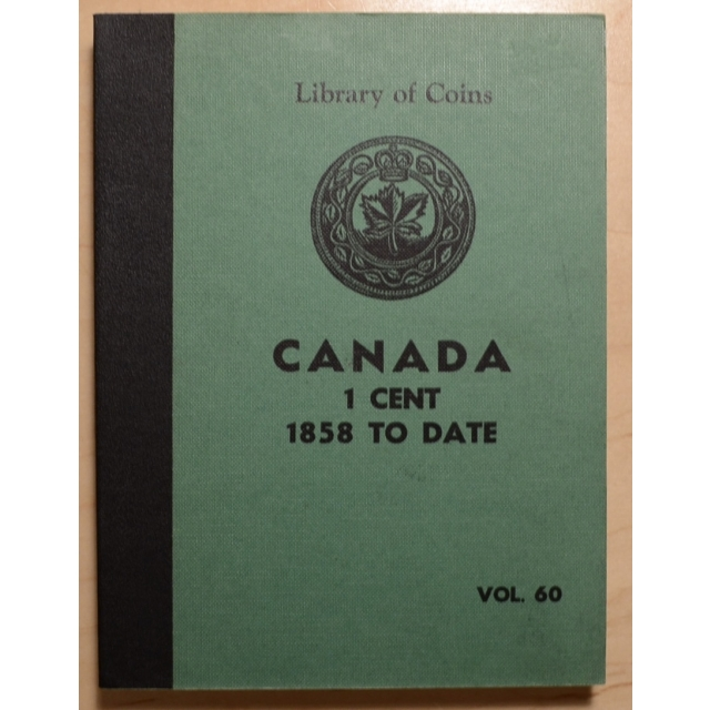 Library of Coins Volume 60, Canada 1 Cent (1858 to Date)