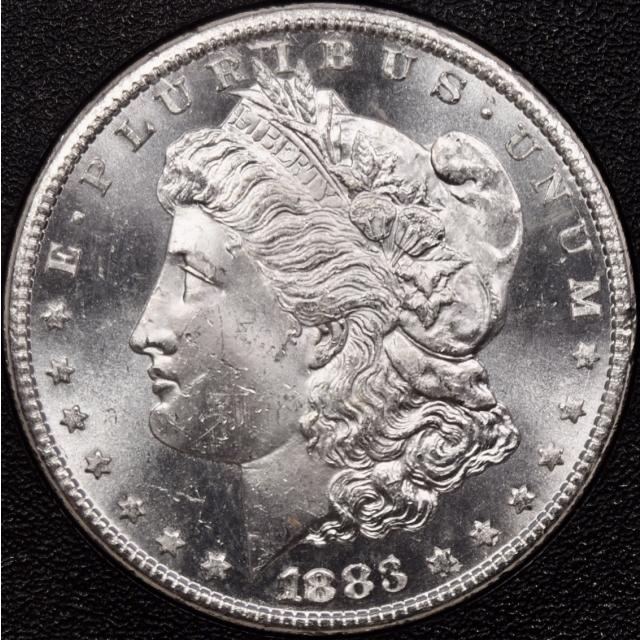 1883-CC GSA Morgan Dollar NGC MS63 PL, I grade 64PL