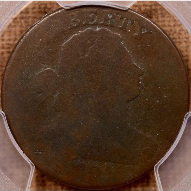 1804 S.266c Draped Bust Cent PCGS FR2 CAC