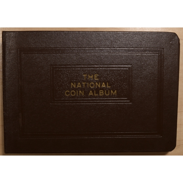 National Coin Album for Standing Liberty Quarters, Complete
