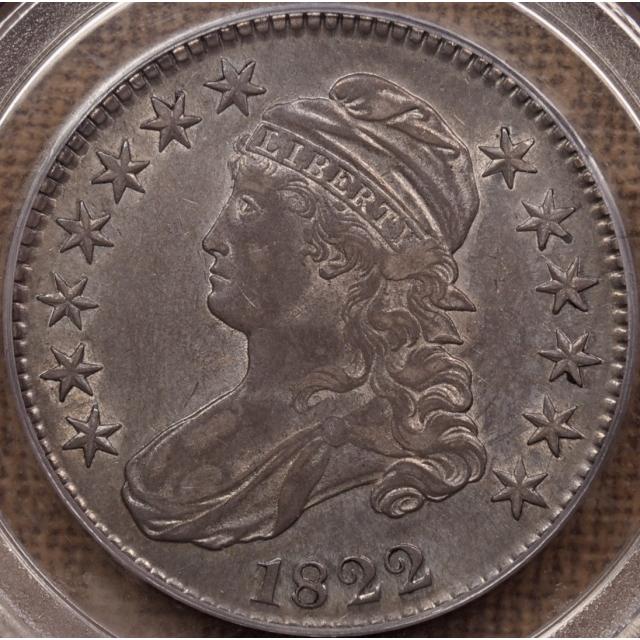 1822 O.105a R6? Capped Bust Half Dollar PCGS XF40
