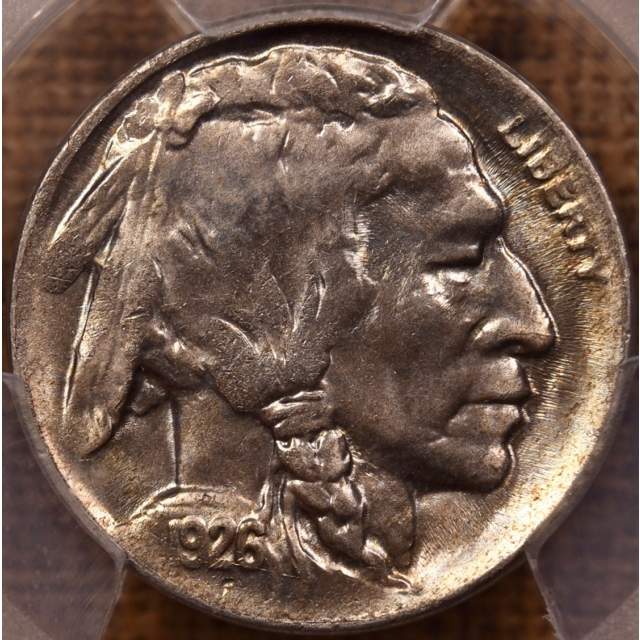 1926-D Buffalo Nickel PCGS MS64+