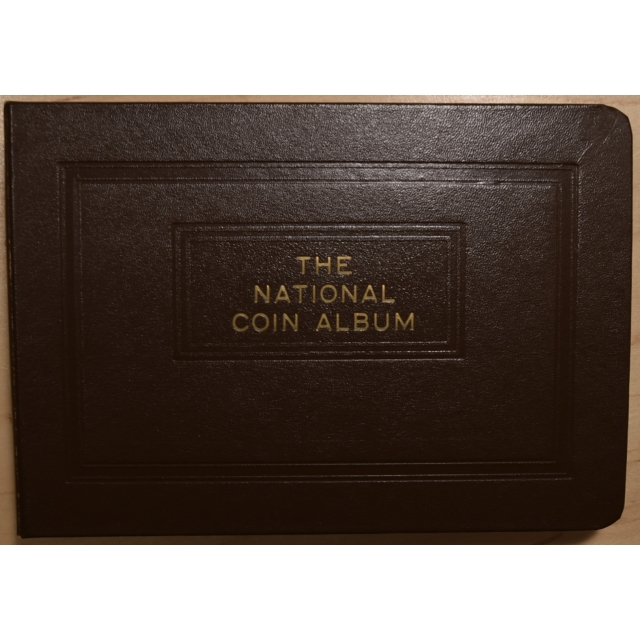 National Coin Album for Barber Half Dollars, 4 pages, 1905-O thru 1915-S