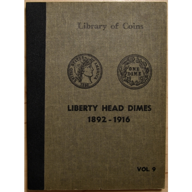 Library of Coins Volume 9, Barber Dime (1892-1916)