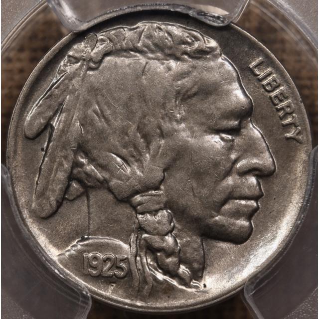 1925-S Buffalo Nickel PCGS AU58 CAC