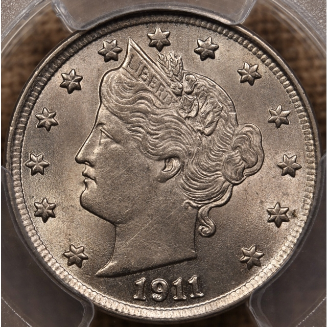 1911 Liberty Nickel PCGS MS63
