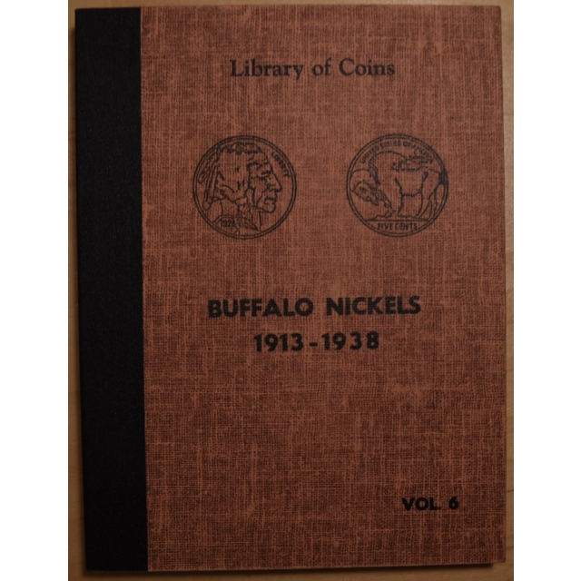 Library of Coins Volume 6, Buffalo Nickels, 1913-1938