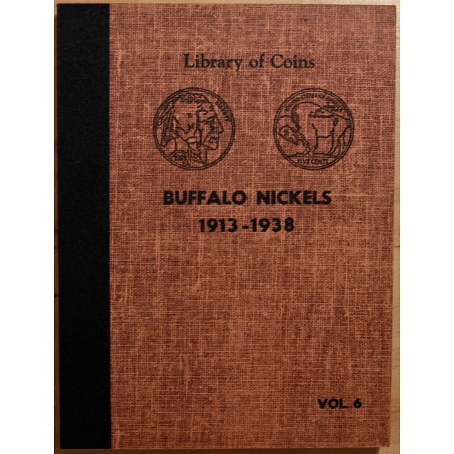Library of Coins Volume 6, Buffalo Nickels (1913-1938)