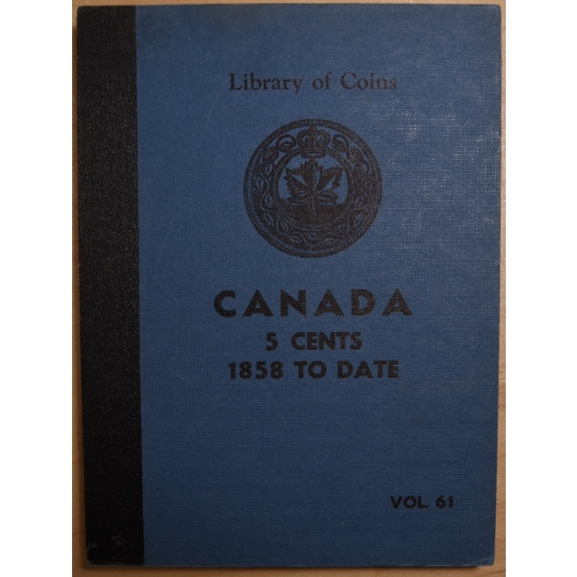 Library of Coins Volume 61, Canada 5 Cents, 1850 to Date