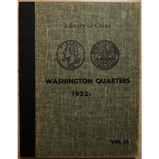Library of Coins Volume 15, Washington Quarters (1932-Present)