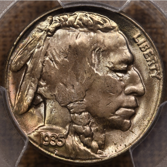1935-S Buffalo Nickel PCGS MS65