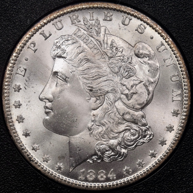1884-CC GSA Morgan Dollar NGC MS65+ CAC