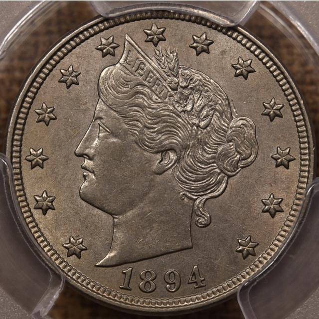 1894 Liberty Nickel PCGS AU58 CAC