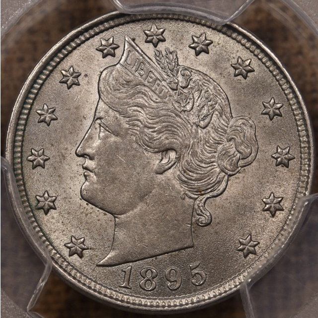 1895 Liberty Nickel PCGS MS63