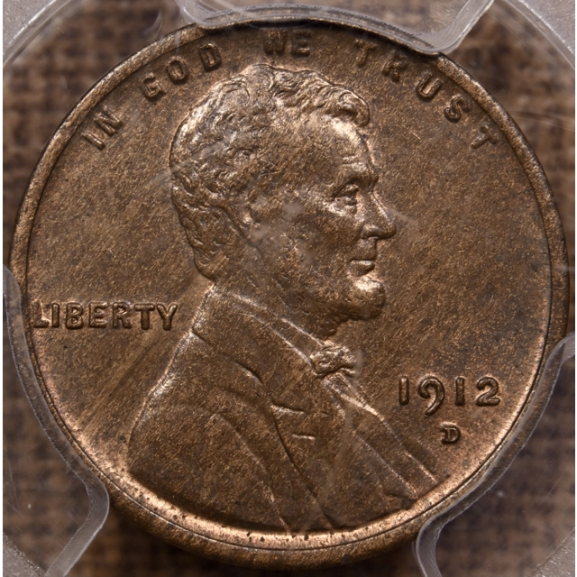 1912-D Lincoln Cent PCGS MS63 BN