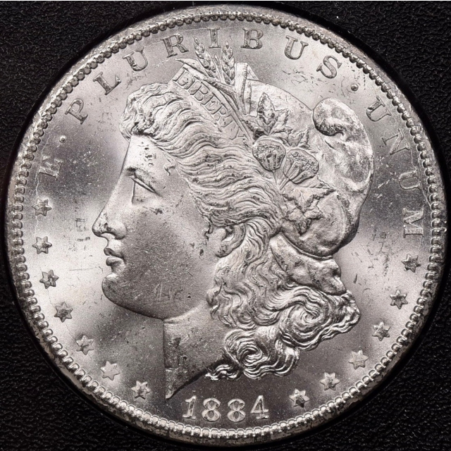1884-CC GSA Morgan Dollar NGC MS65