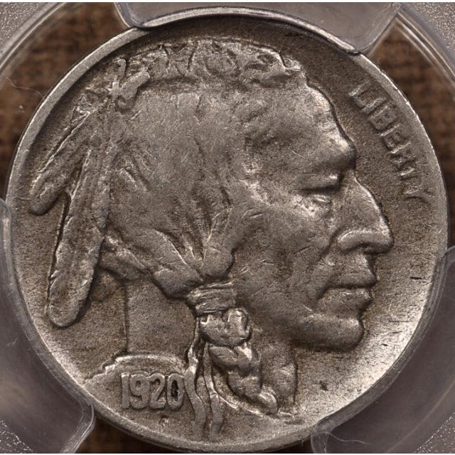 1920-D Buffalo Nickel PCGS VF30