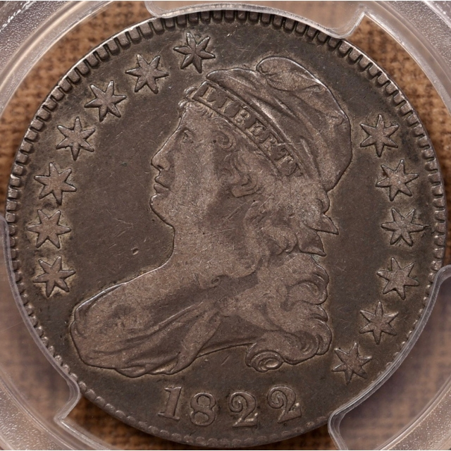 1822 O.103 R5- Capped Bust Half Dollar PCGS VF20