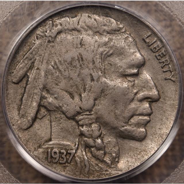 1937-D 3 Leg Buffalo Nickel PCGS XF45 OGH CAC