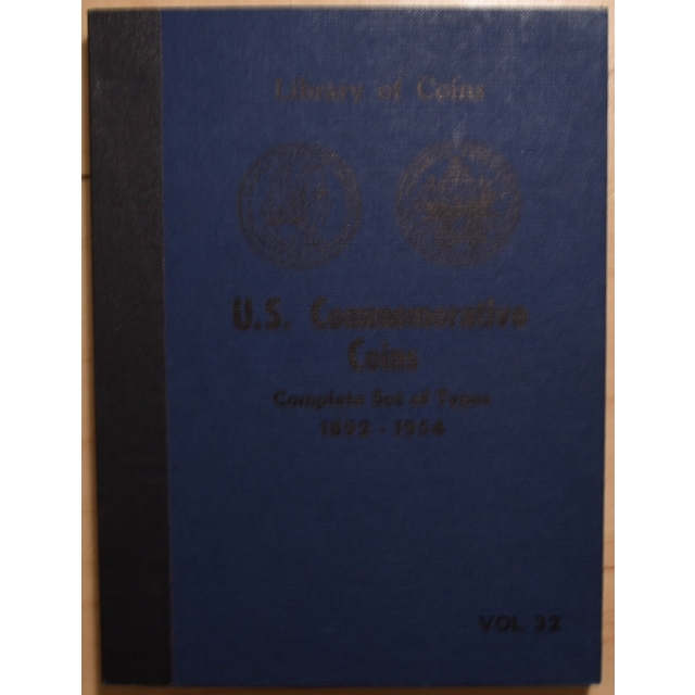 Library of Coins Volume 32, U.S. Commemerative Coins, Complete Set of Types (1892-1954)