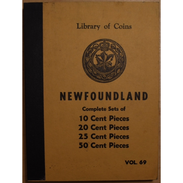 Library of Coins Volume 69, Newfoundland, Complete Sets of 10, 20, 25, and 50 Cent Pieces