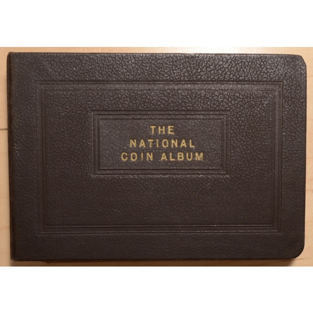 National Coin Album, With Pages for Lincoln Cents, 1909-1946