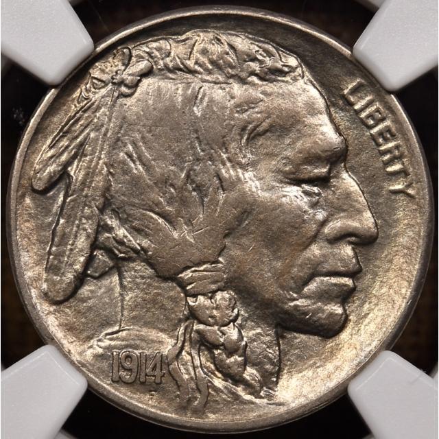 1914-S Buffalo Nickel NGC AU58 CAC, wow-wee!