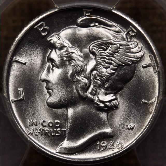 1940-D Mercury Dime PCGS MS66 FB