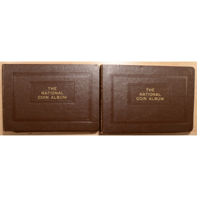 National Coin Albums, With Complete Boards for Washington Quarters