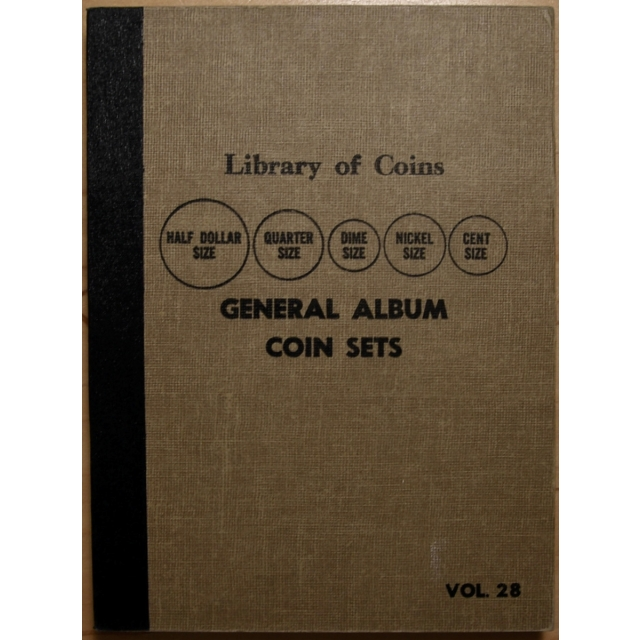 Library of Coins Volume 28, General Album for Coin Sets