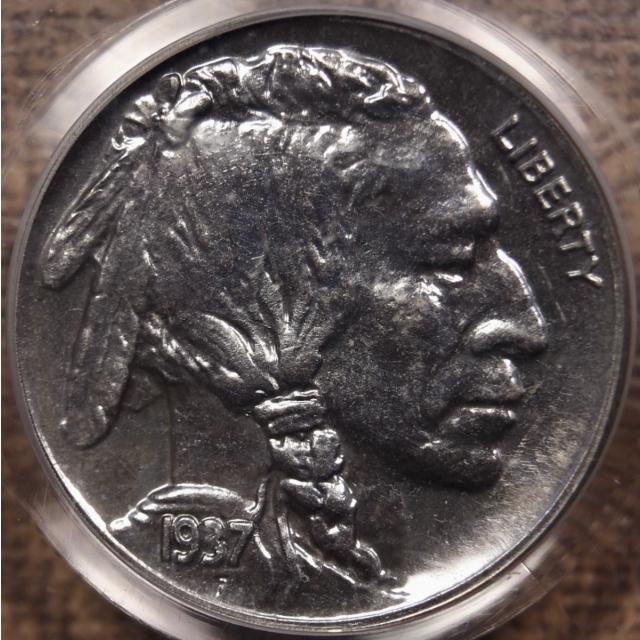 1937 Proof Buffalo Nickel PCGS PR64 OGH CAC