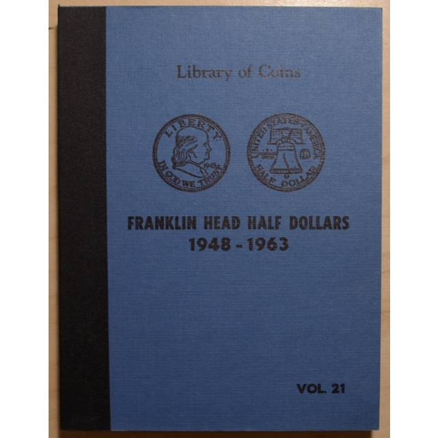 Library of Coins Volume 21, Franklin Head Half Dollars (1948-1963)