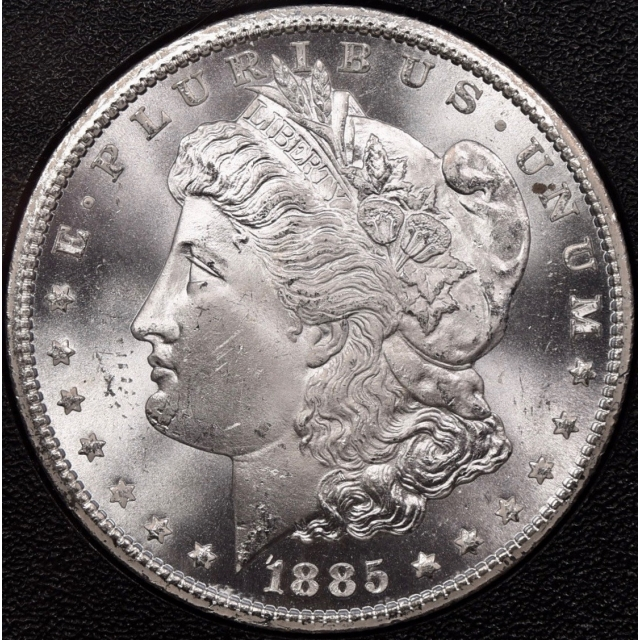 1885-CC GSA Morgan Dollar NGC MS65 CAC, PQ!
