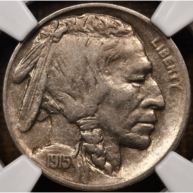 1915-S Buffalo Nickel NGC XF40