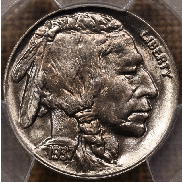 1937-D Buffalo Nickel PCGS MS66