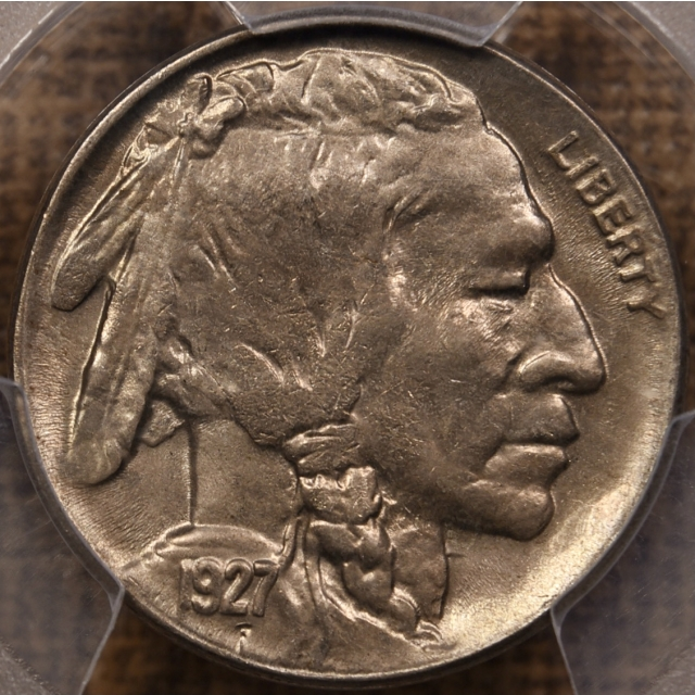1927-D Buffalo Nickel PCGS MS64 CAC