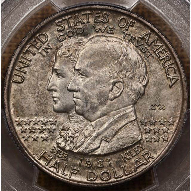 1921 Alabama 2x2 Silver Commemorative PCGS MS64