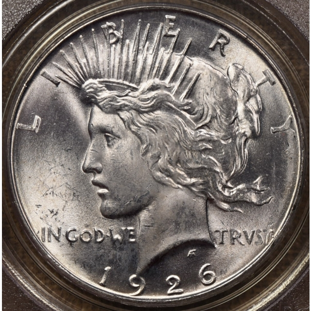 1926-D Peace Dollar PCGS MS63 OGH