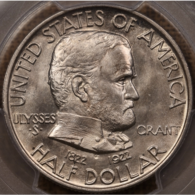 1922 Grant Silver Commemorative PCGS MS66