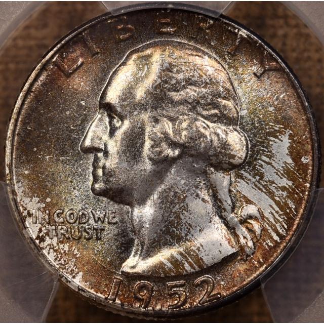 "1952 Washington Quarter PCGS MS66 from the ""Mint Set deal"""