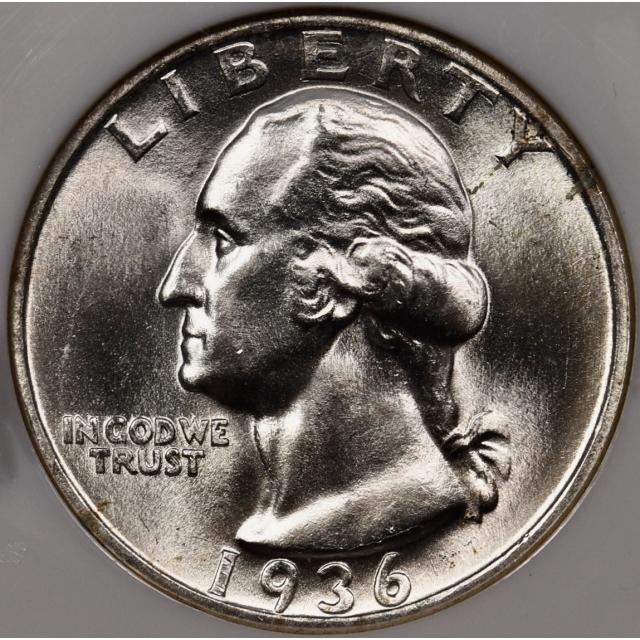 1936-S Washington Quarter NGC MS65