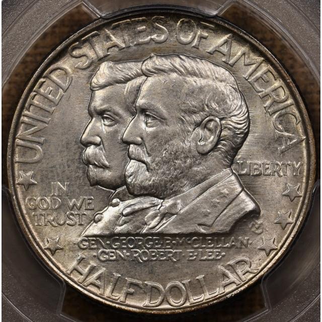 1937 Antietam Silver Commemorative PCGS MS66