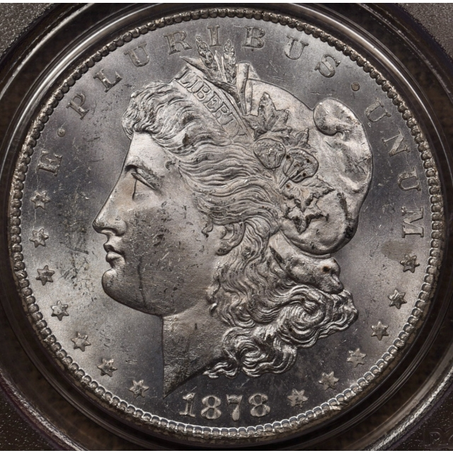 1878-CC Morgan Dollar PCGS MS62 OGH CAC