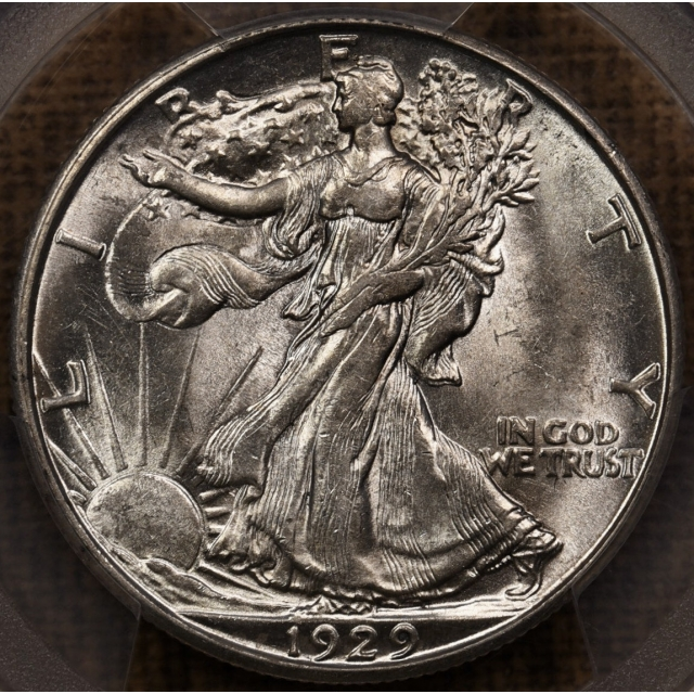 1929-D Walking Liberty Half Dollar PCGS MS62