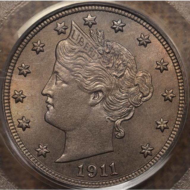 1911 Liberty Nickel PCGS MS64 OGH
