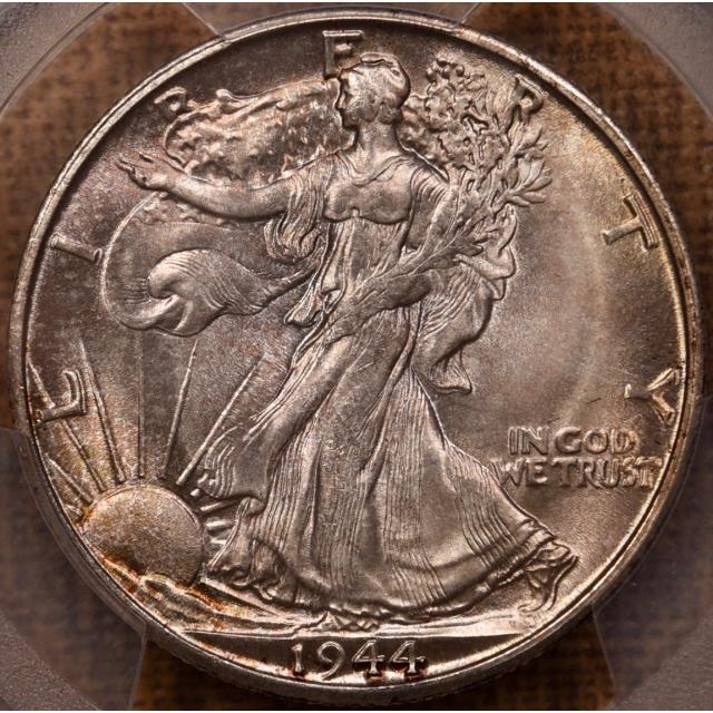 1944-S Walking Liberty Half Dollar PCGS MS66 CAC